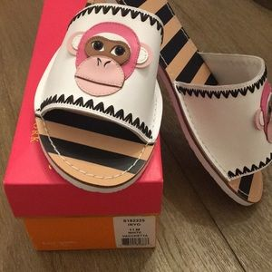 Kate Spade Inyo Monkey Stripe Slide Sandals